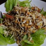 Tea Leaf Salad at Root Healing Iboga Retreat Center