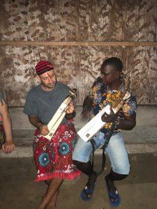 Boussengui and Ryan Bwiti Harps