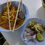 Some Khao Soi at Root Healing Iboga Retreats