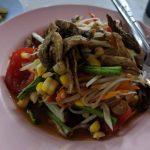 Papaya Salad one of the healthy meals at Root Healing Iboga Retreats