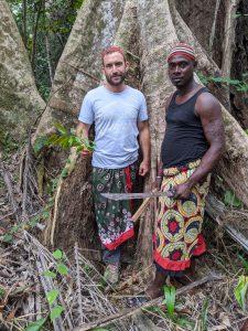 Ryan Rich and Boussenghui in jungle